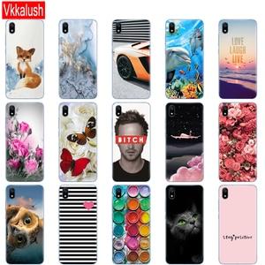 Image 4 - Silicon Shell Tasche Fall Für Xiaomi Redmi 7a Cases Voller Schutz Weiche Tpu Zurück Abdeckung Auf Redmi 7A Stoßstange Telefon coque