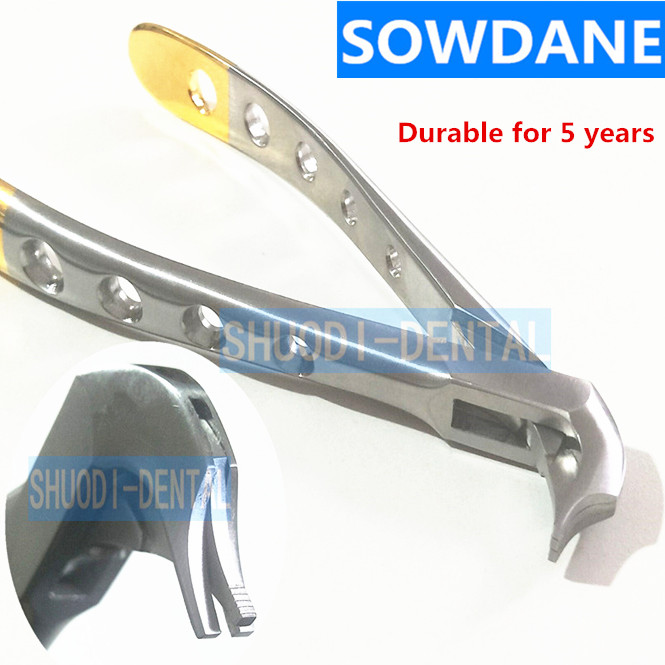 Dental Crown Spreader Forcep Tooth Crown Remover Plier Instrument Tool Stainless Steel