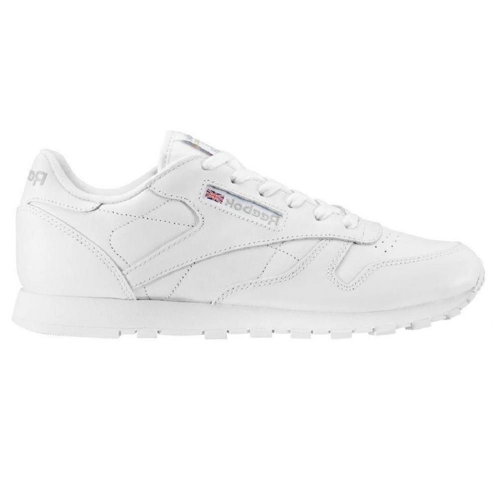 50151 Reebok Classic Leather White Boy-in Running Shoes