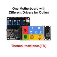 3 DSWAY 3D Материнская Плата Принтера Lerdge Доска с Термистора ARM 32-бит Контроллер DIY Kit с 3.5 «TFT Сенсорный Экран