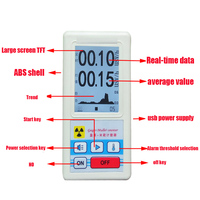 Handheld Nuclear Radiation Detector Portable Geiger Counter Personal Dosimeters Ore Marble Radioactivity Tester Free Shipping
