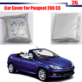 Car Accessory Outdoor UV Anti Rain Sun Snow Resistant  Dust Proof Car Cover For Peugeot 206 CC