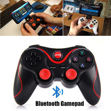 Wireless Bluetooth Gamepad Android Joystick Game Controller for Smart Phone and PC PS3(China)