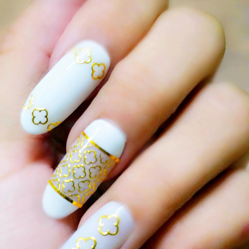 Aliexpress Hot 2017 1 Sheet 3d Metallic Gold Flower Lace Line Picture Nail Art 24 Design Women Manicures Polish Tool Decor Holiday From