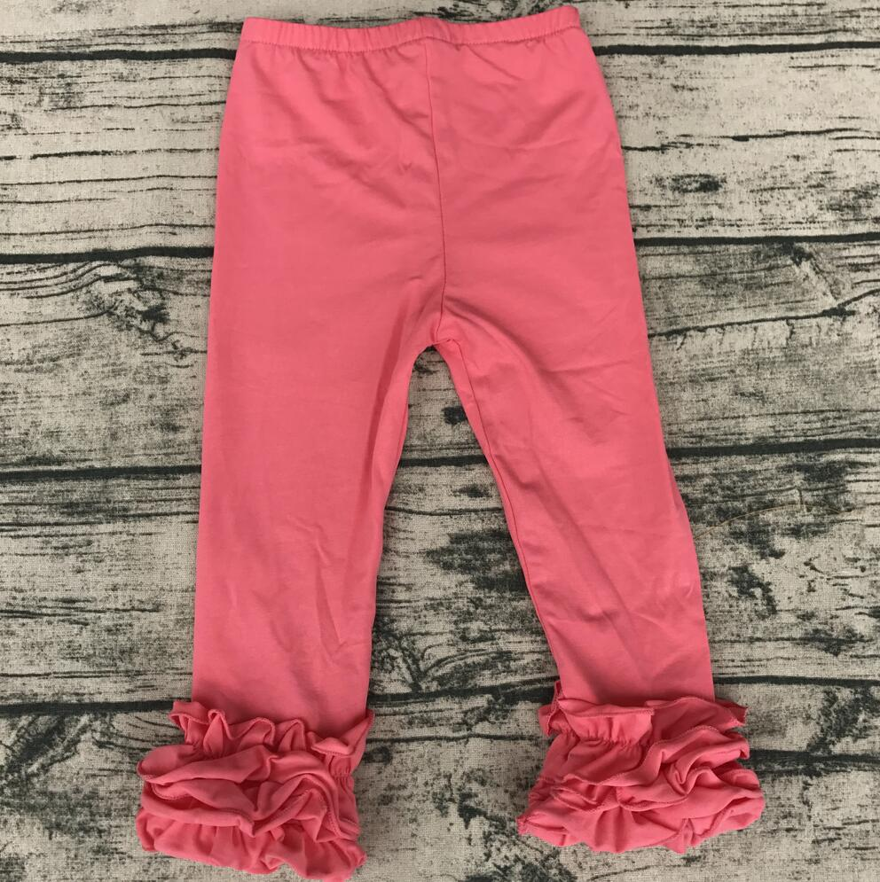 e9cad43d9e109 multicolor pants custom legging girls plain icing pants children cotton ruffle  pants wholesale-in Pants from Mother & Kids on Aliexpress.com | Alibaba  Group