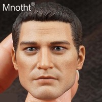 Mnotht San Diego Agents Head Sculpt 1/6 Scale Male Soldier Head Carving Western Police Model for 12inch Action Figure Toys M3n