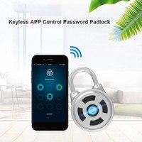 Bluetooth APLICATIVO Home Security Anti Ladrão de Abridor de Porta de Bloqueio bloqueio Keyless Universal Remoto Do Telefone Portátil de Aço Inoxidável|Fechaduras de portas| |  -