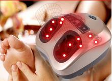 Electric Shiatsu Foot Massager Kneading Air Pressure Massage Foot Machine & Heating Therapy Health Care Feet Relaxation foot massage machine household automatic foot soles multi functional acupuncture points kneading massage foot heel
