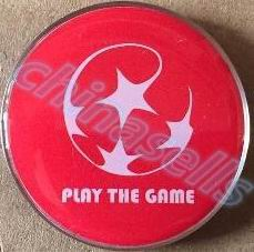 1pcs Sports Soccer Football Champion Pick Edge Finder Coin Toss Referee Side Coin