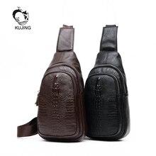 KUJING männer Tasche Hochwertige Leder männer Schulter Messenger Bag Hot Geschäfts Männer Tasche Billig Luxus Leder herren Casual Bag