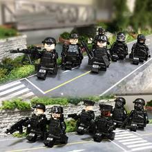 """8 шт./12 шт. Собранные военные Солдатики """"Special Forces"""" кирпичи оружие совместимы Legoings Armed Building SWAT блоки игрушки"""