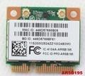 Nueva WIFI + Bluetooth 3.0 Tarjeta Inalámbrica Atheros AR5B195 medio AR9285 mini pci-e tarjeta de 150 mbps para lenovo g470 g480 g580 y470 z480