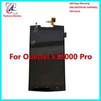 وحدة قطع غيار رقمية لهاتف Oukitel K10000 Pro بشاشة عرض LCD + لوحة شاشة تعمل باللمس مقاس 100% بوصة لـ K10000 pro