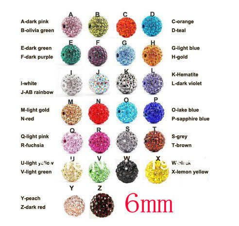 Obedient Free Shipping 100pcs Lose Money Sale Mixed Balla Beads 6mm Ab Clay Crystal Balla Disco Pave Crysta Balls Diy Bracelet Pendant Beads