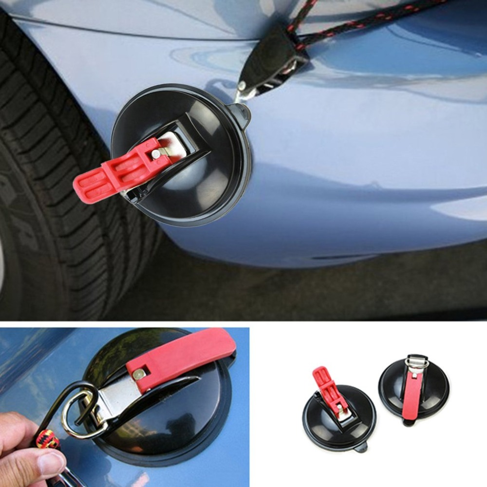 Suction Cup Anchor Heavy Duty Tie Down Car Mount Luggage Tarps Tents Anchor with Securing Hook Universal for Car Truck
