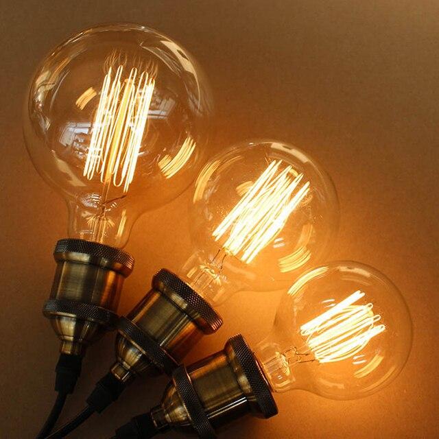 Edison Bulb E27 110V 220V Creative Arts Personality Retro Tungsten Light Source Home Decorative Works Incandescent & Edison Bulb E27 110V 220V Creative Arts Personality Retro Tungsten ... azcodes.com