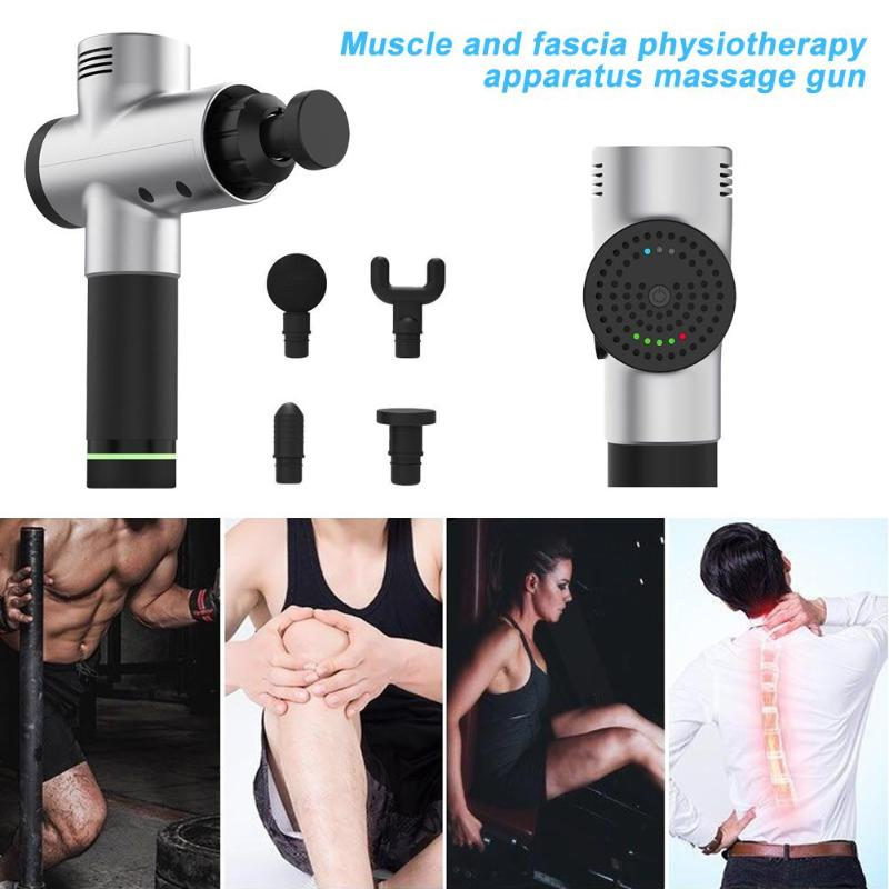 Massage Gun Body Relax Pain Relief Elektrische Vibrerende Therapie Tissue Muscle Massager Training Oefenen Body Ontspanning - 5
