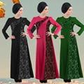 As mulheres muçulmanas vestido robe musulmane linho Das Senhoras Roupas Femininas Senhoras Caftan Árabe Turco Dubai Abayas Kaftan Malásia