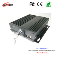 4G GPS surveillance video recorder 4CH mdvr dual SD card equipment sprinkler mobile dvr support Lao language