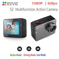 ezviz s2 action camera Multifunction sports, live broadcast, driving 1080P60fps Touch screen 2 inches