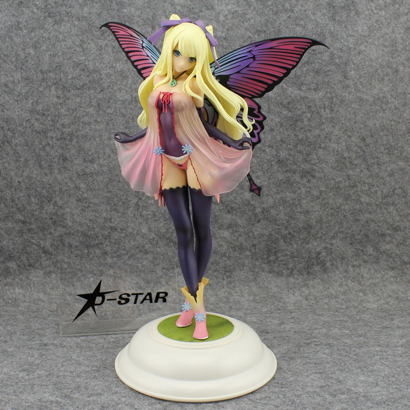 Free Shipping Sexy 12 Anime Tony's Heroine Fairy Garden Annabel 1/6 Scale Boxed 30cm PVC Action Figure Model Doll Toys Gift free shipping sexy 12 high school dxd anime himejima akeno swimsuit boxed 30cm pvc action figure model doll toys gift