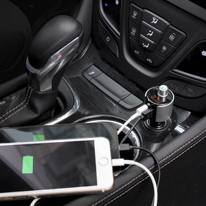 Image 5 - 2 USB Ports Car Charger Bluetooth JL 2.1 USB Player Auto FM Stereo System LED Display Vehicle FM Transmitter Built in Microphone