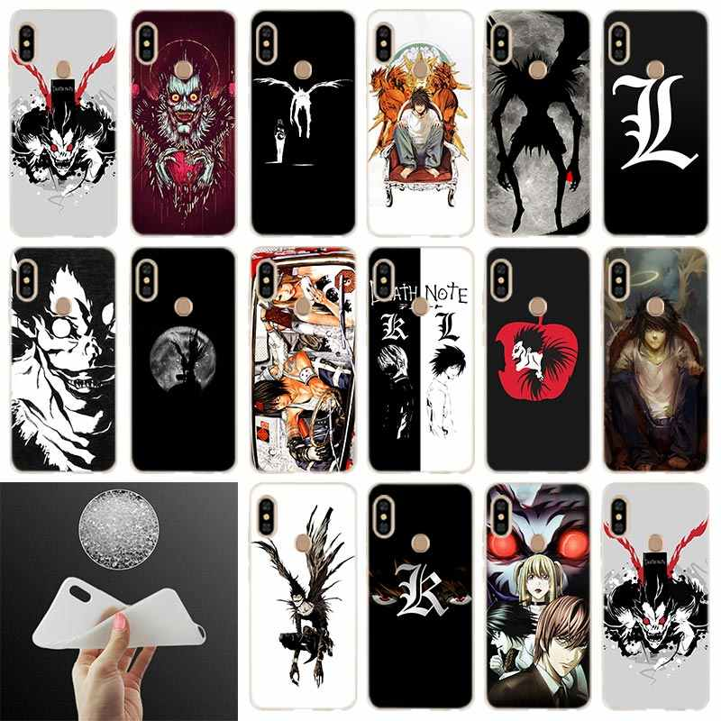 Anime Manga Death Note Mềm Điện Thoại Xiaomi Redmi Note 8 7 6 5 Pro 8A 7 6pro 6A s2 5A 4A 5 Plus Y3 Coque Funda Etui Trường Hợp