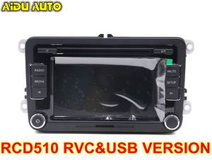 Car-Radio Camera-Version RCD510 Stereo AUX USB RVC CC with Code for VW Golf 5/6/Jetta/..