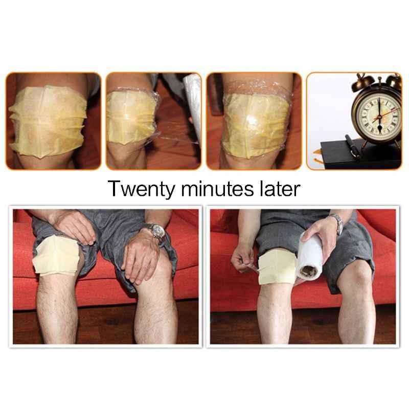 2 ピース/ペア自己発熱冬膝関節足暖かいステッカーナチュラルジンジャーエキスパッチショルダーデトックス払拭コールドマッサージ