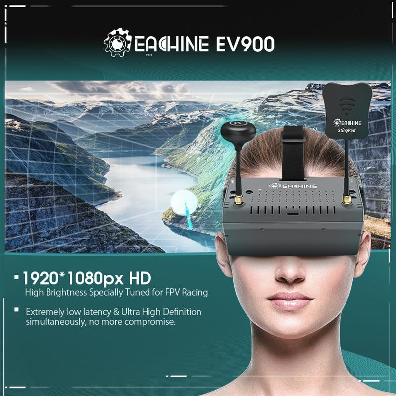 HTB1xiNDdr9YBuNjy0Fgq6AxcXXae - EachineEV900 1920 * 1080 HD 5.8G 40CH HDMI AR VR FPVゴーグル5インチディスプレイ内蔵2400mAhバッテリー S81270784