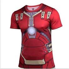 Batman Spiderman Venom Ironman Superman Captain America Winter soldier Marvel T shirt Avengers Costume DC Comics Superhero mens
