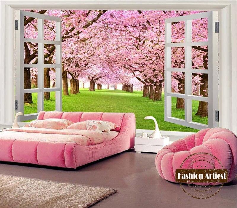 Pink Flower Wallpaper Living Room. colorful pink flower wallpaper ...
