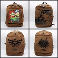 anime Gravity Falls The Legend of Zelda JOJO'S BIZARRE ADVENTURE Backpack Canvas men women bag School Bag Travel bag 5 style
