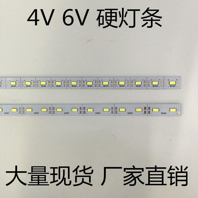 led hard strip 5730 LED 4V strip hard lights DC4V 50cm/pcs bar light 30PCS chip/0.5meter high light LED strip jewelry counter