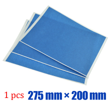10sheets*200 mm * 275 mm  3D printer for hot bed of blue masking tape Adhesive tape