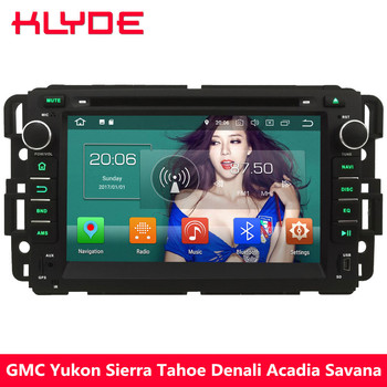 "KLYDE 7"" 4G Android 8.0 Octa Core PX5 4GB RAM 32GB ROM Car DVD Multimedia Player For GMC Yukon Sierra Tahoe Denali Acadia Savana"