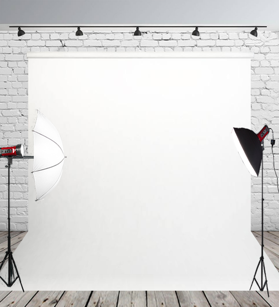 Us 4 88 39 Off Huayi White Muslin Photo Video Photography Backdrops Baby Newborn Adults Portrait Photoshoot Studio Fabric Background Props W374 In