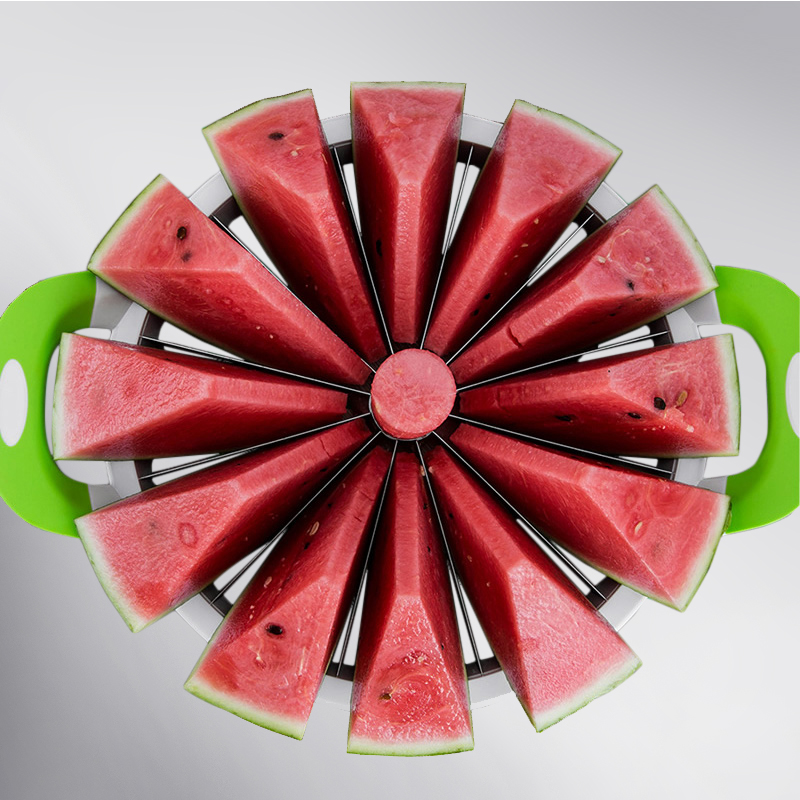 Watermelon Cutter Convenient Kitchen Cooking Fruit Cutting Practical Tools Creative Apple Slicer Pear Knife Diameter 275mm