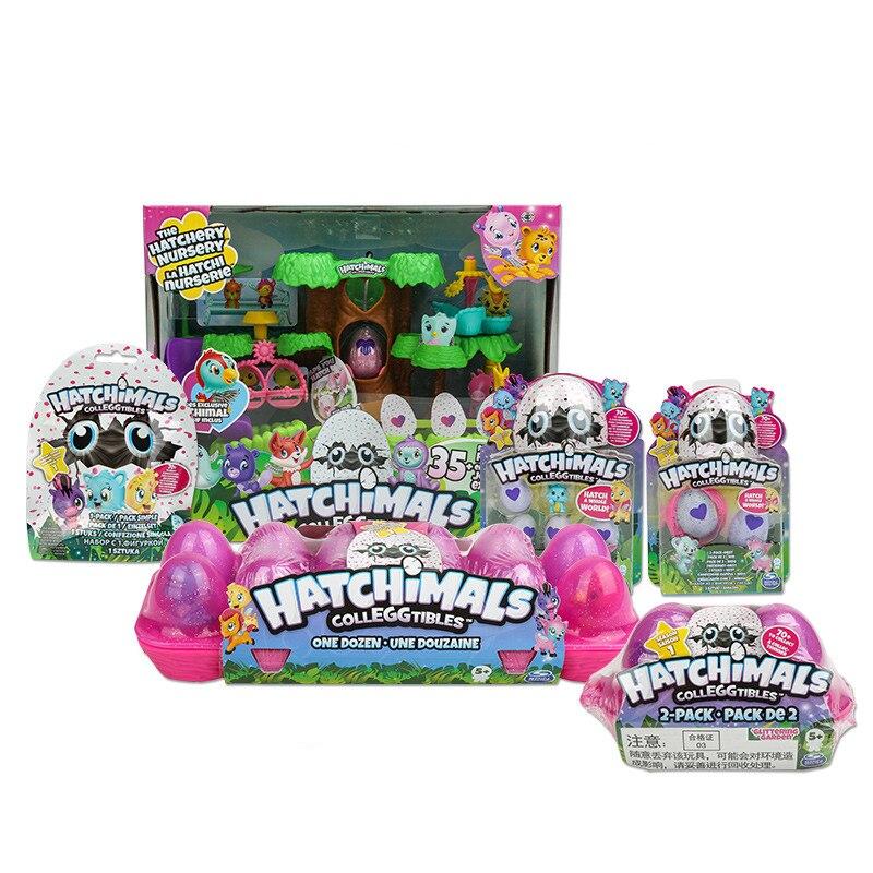 Hatchimals Eier Nette Haustiere Mini Spielzeug Vogel Nest
