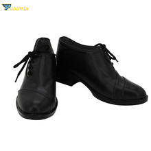 Vampire Knight Clan Kaname Cosplay Shoes Black Boots Custom Made