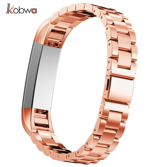2017 High Quality Elastic Stainless Steel Watch Band Excellent Wrist Strap Fitbit Alta Wristband Replacement Belt 6 Colors  3