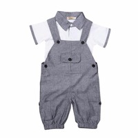 New 2pcs Toddler Infant Kids Boy Clothes T Shirt Tops Pants Outfits Set