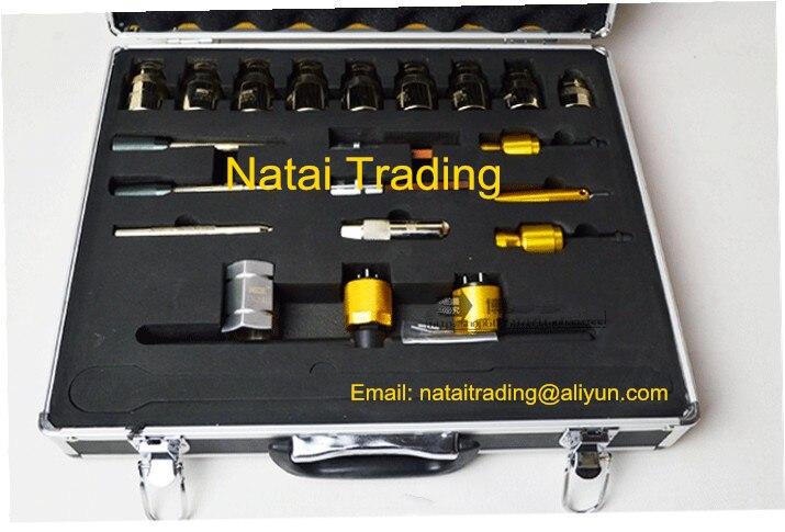 2018 New 22pcs common rail injector disassembling dismantle tool kits diesel injector repairing tools