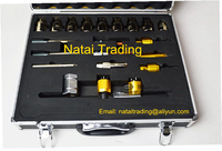 New 22pcs common rail injector disassembling dismantle tool kits diesel injector repairing tools