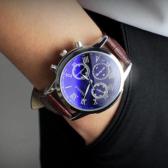 Reloj de Cuarzo de Moda Casual y de Negocios