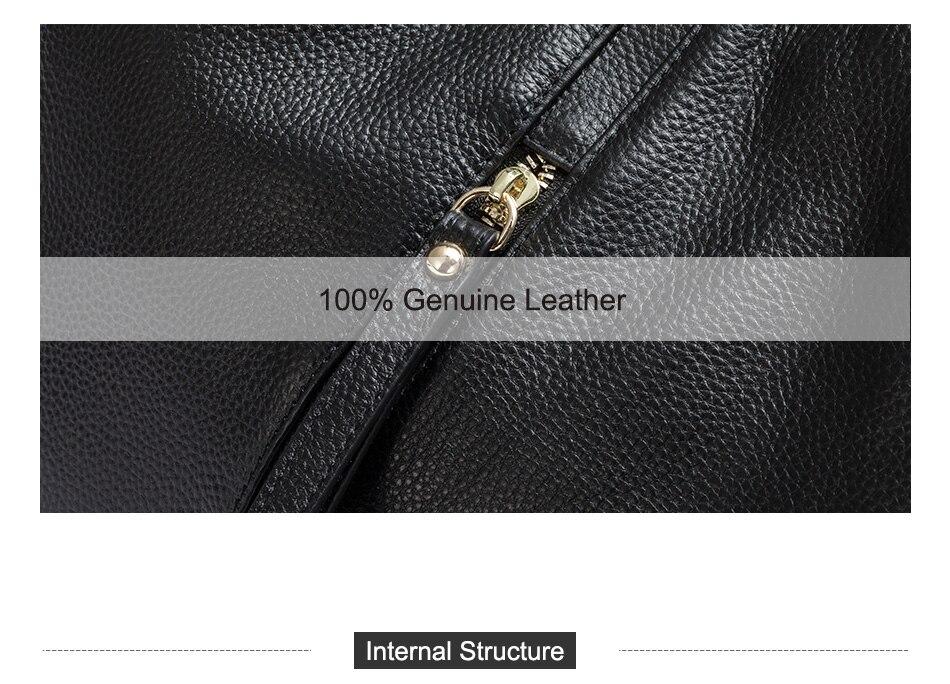 Zency moda feminina bolsa de ombro 100%