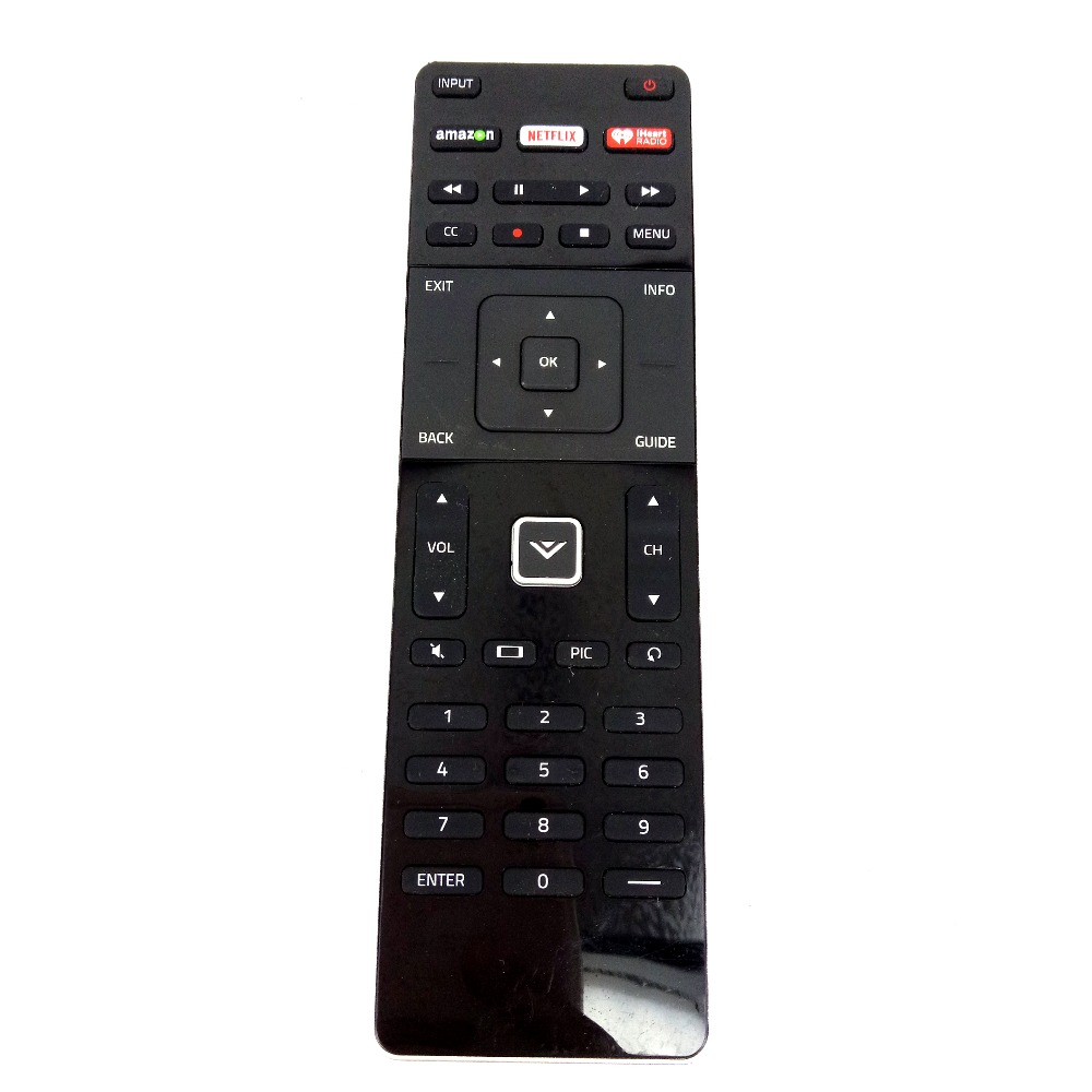 New Original Replacement Used Original Remote Control For VIZIO TV M-GO Amazon with Keyboard Remote Controller Free Shipping 3d42738i tv remote receiver receives board juc7 820 00047872 used disassemble