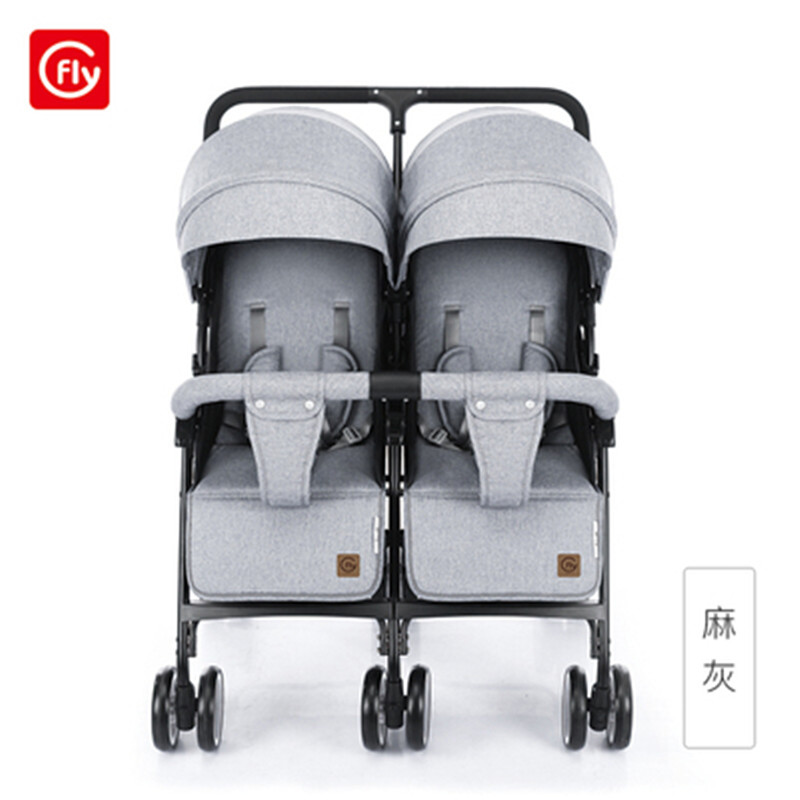 twins baby stroller sitting and lying portable baby carriage folding second child artifact double seat twin stroller for newborn