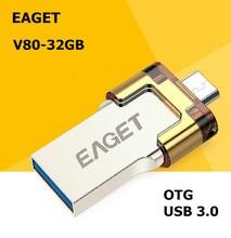 EAGET V80 USB 3 0 100 32GB Smart Phone Tablet PC USB Flash Drives OTG external
