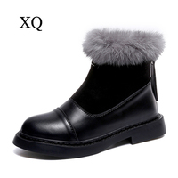 Women Ankle Boots 2018 New Arrivals High Quality Waterproof Thicken Plush Winter Shoes Platform Snow Boots